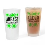Area 51 Clean-Up Crew Pint Glass