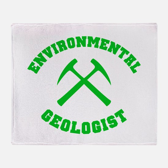 Environmental Geologist Throw Blanket