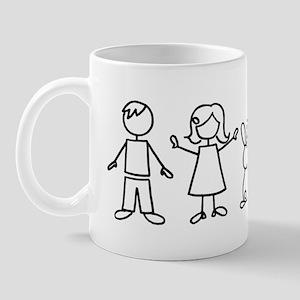 1 bunny family Mug