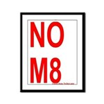 NOM8 Framed Panel Print