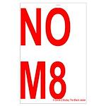 NOM8 Large Poster