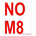 NOM8 Small Poster