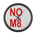 NOM8 Large Wall Clock