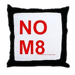 NOM8 Throw Pillow