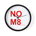 NOM8 Wall Clock