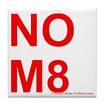 NOM8 Tile Coaster