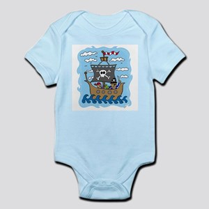 Pirate Ship Infant Bodysuit