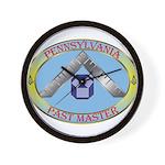 Pennsylvania Past Master Wall Clock