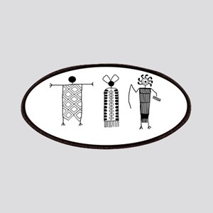 Petroglyph People Patches