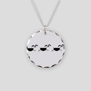 Hopi Mountain Sheep Glyph Necklace Circle Charm