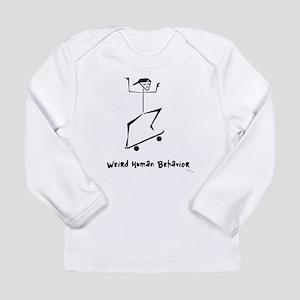 Weird Skateboard Long Sleeve Infant T-Shirt