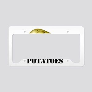 Potato Head with Toes License Plate Holder