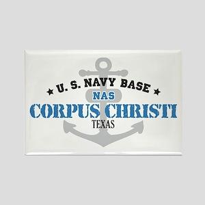 US Navy Corpus Christi Base Rectangle Magnet