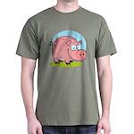 Happy Pig Dark T-Shirt