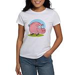 Happy Pig Women's T-Shirt