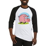 Happy Pig Baseball Jersey