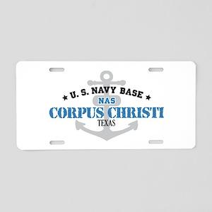 US Navy Corpus Christi Base Aluminum License Plate