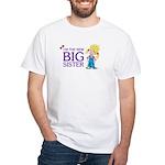 I'm the New Big Sister White T-Shirt