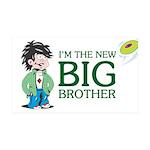 I'm the New Big Brother 38.5 x 24.5 Wall Peel