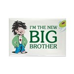 I'm the New Big Brother Rectangle Magnet (100 pack
