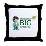 I'm the New Big Brother Throw Pillow