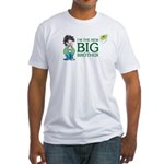 I'm the New Big Brother Fitted T-Shirt