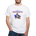 Politics Jack of White T-Shirt