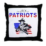 Politics Jack of Throw Pillow