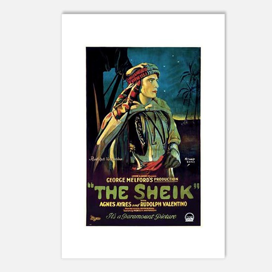 The Sheik Postcards (Package of 8)