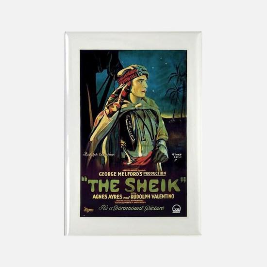 The Sheik Rectangle Magnet