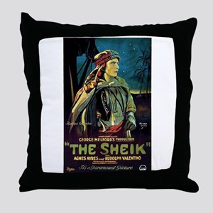 The Sheik Throw Pillow
