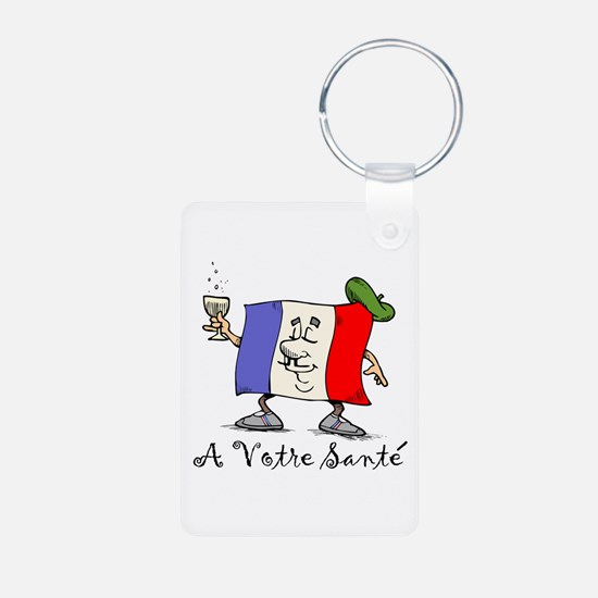 A Votre Sante Keychains