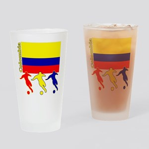Colombia Soccer Pint Glass