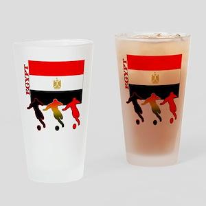 Egypt Soccer Pint Glass