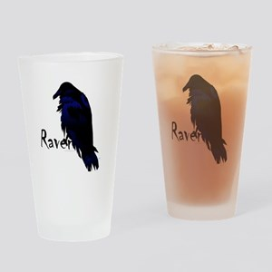 Raven on Raven Pint Glass