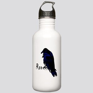 Raven on Raven Stainless Water Bottle 1.0L