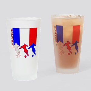 Soccer France Pint Glass