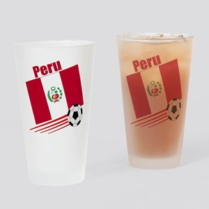 Peru Soccer Team Pint Glass