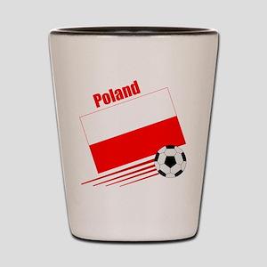 Poland Soccer Team Shot Glass