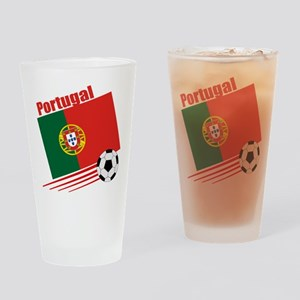 Portugal Soccer Team Pint Glass