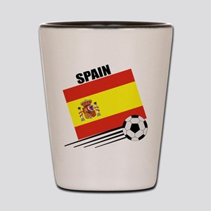 Spain Soccer Team Shot Glass