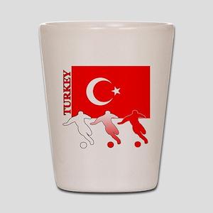 Turkey Soccer Shot Glass