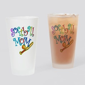 Softball Mom II Pint Glass
