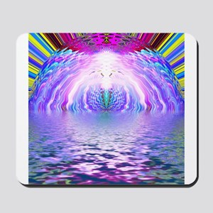 Psychedelic Sunrise Mousepad