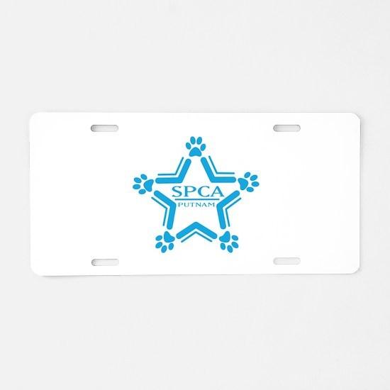 Unique Spca Aluminum License Plate