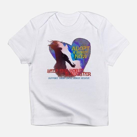 Adopt a Horse Infant T-Shirt