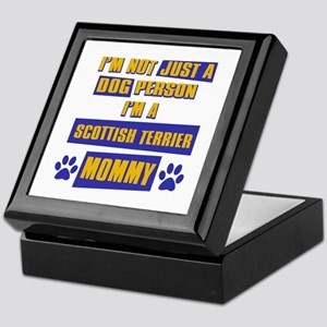 Scottish Terrier Mommy Keepsake Box