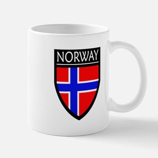 Norway Flag Patch Mug