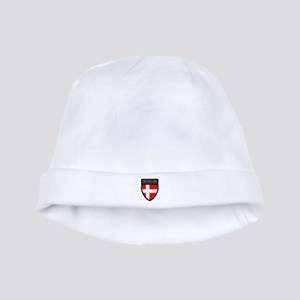 Denmark Flag Patch baby hat