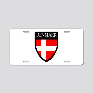 Denmark Flag Patch Aluminum License Plate